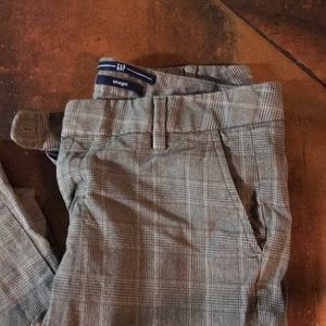 Gap plaid pants
